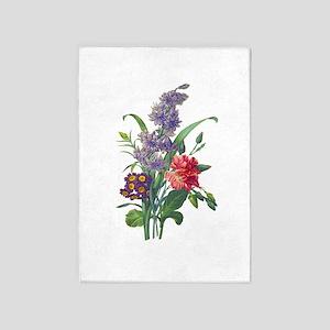 Redoute - Hyacinth, Bear Ears and E 5'x7'Area Rug