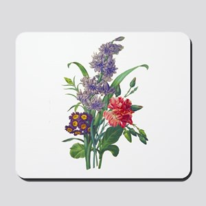 Redoute - Hyacinth, Bear Ears and Eyelet Mousepad