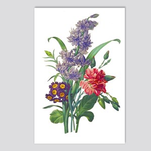 Redoute - Hyacinth, Bear Postcards (Package of 8)