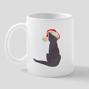 Christmas Cat With Hat Mug