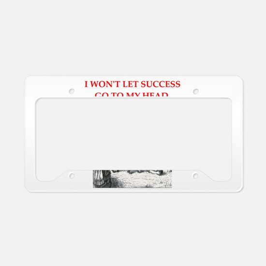 rugby License Plate Holder