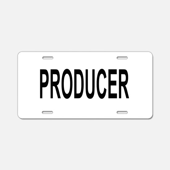 Producer Aluminum License Plate
