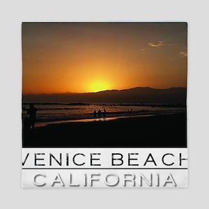 Venice Beach Sunset king size Queen Duvet