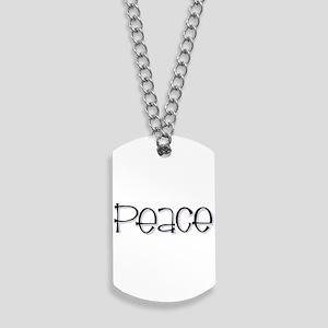 Peace Dog Tags
