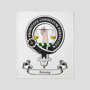 Badge-Renny Throw Blanket
