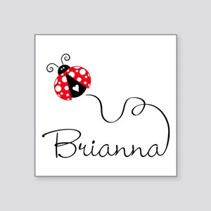 Ladybug Brianna Sticker
