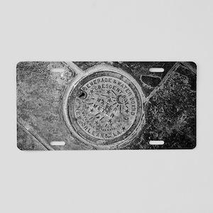 New Orleans Street Meter Li Aluminum License Plate