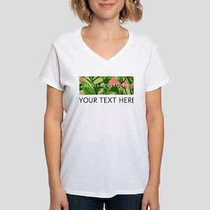Alpha Epsilon Phi Banana Le Women's V-Neck T-Shirt