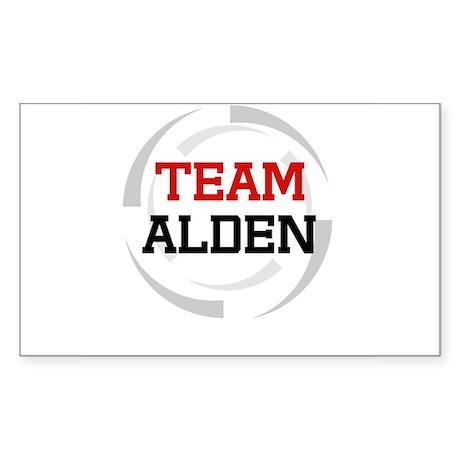 Alden Rectangle Sticker