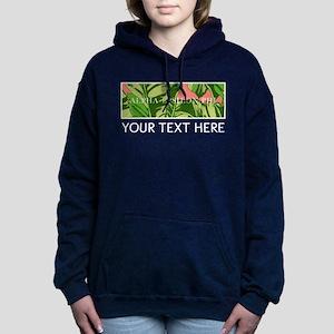 Alpha Epsilon Phi Banana Women's Hooded Sweatshirt