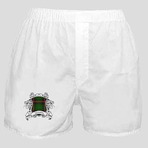 Young Tartan Shield Boxer Shorts