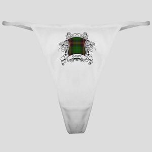 Young Tartan Shield Classic Thong