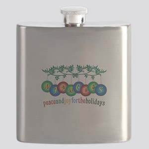 Peace And Joy Flask