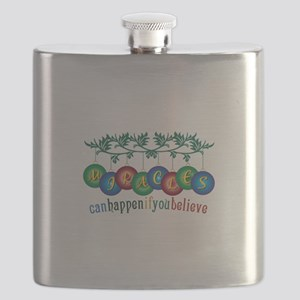 Miracles Can Happen Flask
