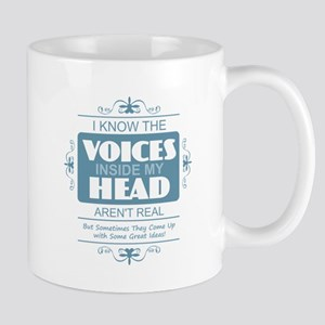 Voices in my Head Mugs