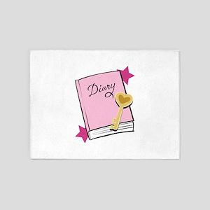 Diary 5'x7'Area Rug