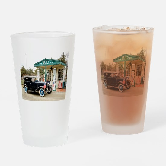 Cool Model a Drinking Glass