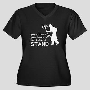 Take a Stand Plus Size T-Shirt