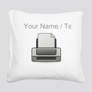 Custom Printer Square Canvas Pillow