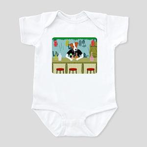 Jack Russell Terrier Tiki Bar Infant Bodysuit