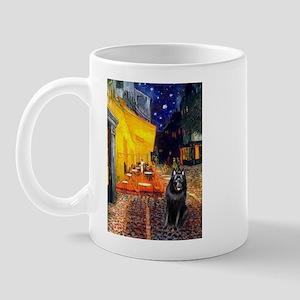 Cafe & Schipperke Mug