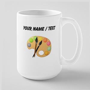 Custom Paint Easel Mugs