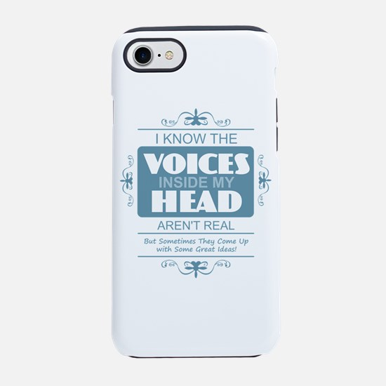 Voices in my Head iPhone 7 Tough Case