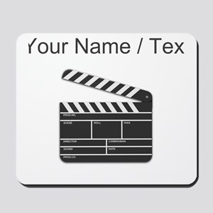 Custom Movie Director Cut Board Mousepad