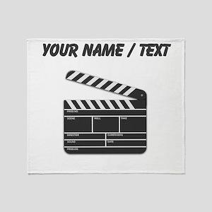 Custom Movie Director Cut Board Throw Blanket