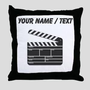Custom Movie Director Cut Board Throw Pillow