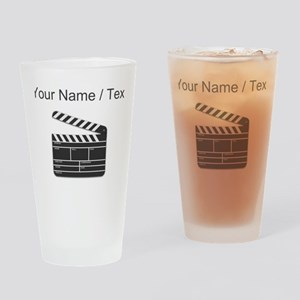 Custom Movie Director Cut Board Drinking Glass