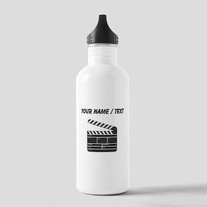Custom Movie Director Cut Board Water Bottle