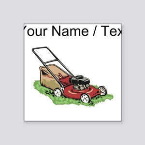Custom Lawnmower Sticker