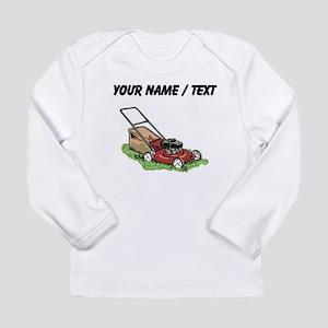 Custom Lawnmower Long Sleeve T-Shirt
