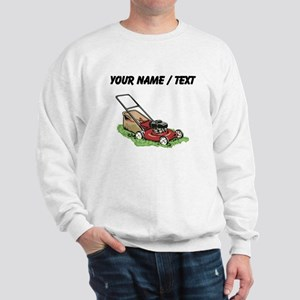Custom Lawnmower Sweatshirt