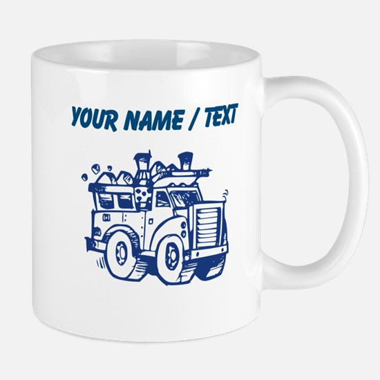 Custom Garbage Truck Mugs
