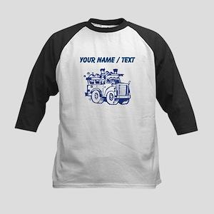 Custom Garbage Truck Baseball Jersey