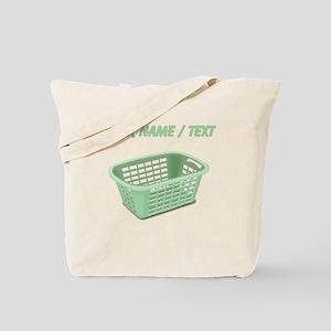 Custom Laundry Basket Tote Bag