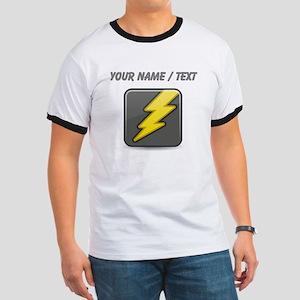 Custom Lightning Icon T-Shirt