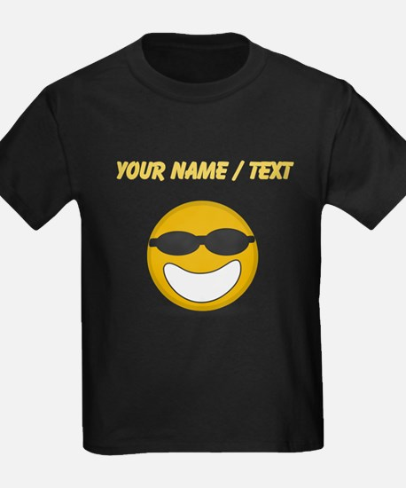 Custom Cool Smiley Face T-Shirt