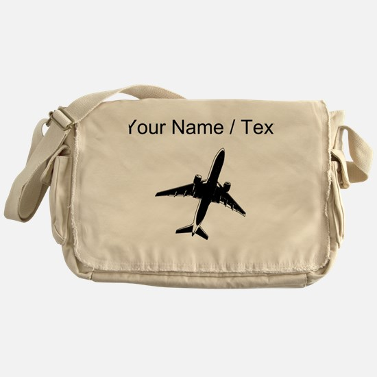 Custom Airplane Messenger Bag