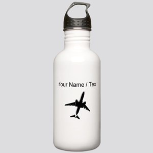 Custom Airplane Water Bottle