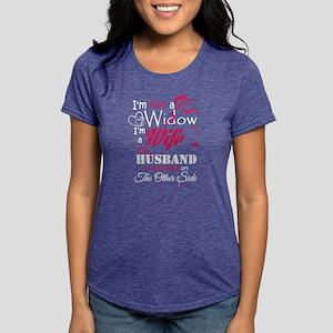 I AM NOT A WIDOW , I AM A WIFE , MY HUSBAN T-Shirt