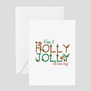Keep It Jolly Greeting Cards