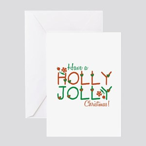 Jolly Christmas Greeting Cards