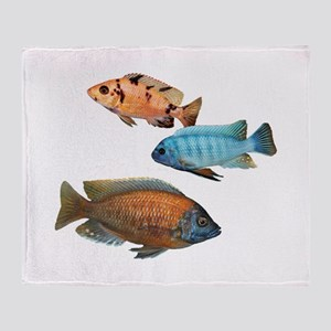 Cichlid Treo Throw Blanket