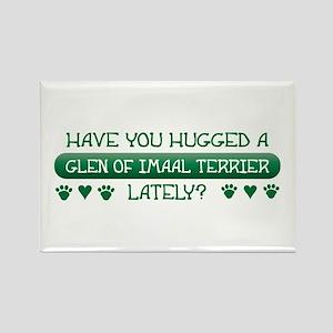 Hugged Glen Rectangle Magnet