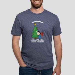 Peanuts Biggest Present Und Mens Tri-blend T-Shirt