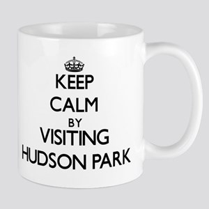 Keep calm by visiting Hudson Park New York Mugs