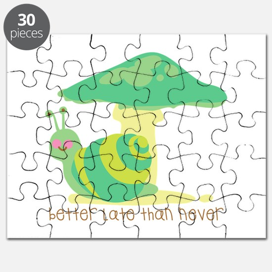 Better Late Than Never Puzzle